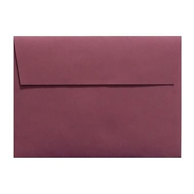 LUX A4 Invitation Envelopes (4 1/4 x 6 1/4) 500/Box, Vintage Plum (LUX-4872-104-25)
