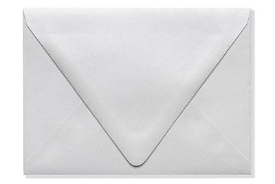 LUX A6 Contour Flap Envelopes (4 3/4 x 6 1/2) 500/Box, Crystal Metallic (1875-30-500)