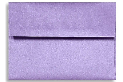 LUX A6 Invitation Envelopes (4 3/4 x 6 1/2) 1000/Box, Amethyst Metallic (5375-17-1000)