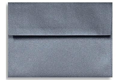 LUX A6 Invitation Envelopes (4 3/4 x 6 1/2) 50/Box, Anthracite Metallic (5375-15-50)