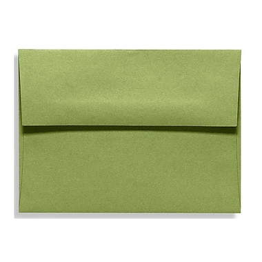 LUX A6 Invitation Envelopes (4 3/4 x 6 1/2) 250/Box, Avocado (EX4875-27-250)