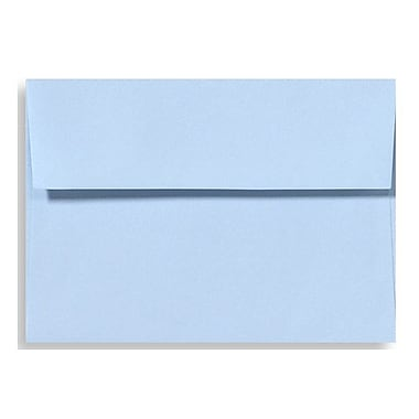 LUX A6 Invitation Envelopes (4 3/4 x 6 1/2) 50/Box, Baby Blue (EX4875-13-50)
