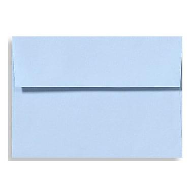 LUX A6 Invitation Envelopes (4 3/4 x 6 1/2) 250/Box, Baby Blue (EX4875-13-250)