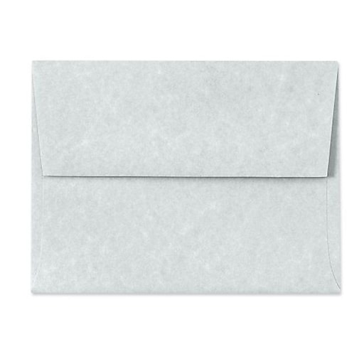 LUX A6 Invitation Envelopes (4 3/4 x 6 1/2) 50/Box, Blue Parchment (6675-12-50)