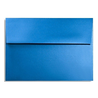 LUX A6 Invitation Envelopes (4 3/4 x 6 1/2) 50/Box, Boutique Blue (FA4875-02-50)