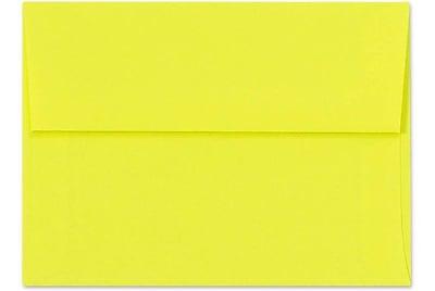 LUX A6 Invitation Envelopes (4 3/4 x 6 1/2) 250/Box, Citrus (FE4275-20-250)