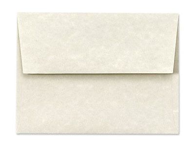 LUX A6 Invitation Envelopes (4 3/4 x 6 1/2) 250/Box, Cream Parchment (6675-11-250)