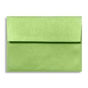 LUX A6 Invitation Envelopes (4 3/4 x 6 1/2) 500/Box, Fairway Metallic (5375-25-500)