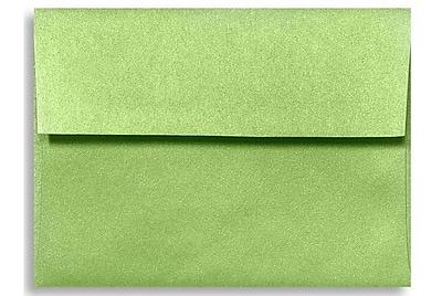 LUX A6 Invitation Envelopes (4 3/4 x 6 1/2) 50/Box, Fairway Metallic (5375-25-50)