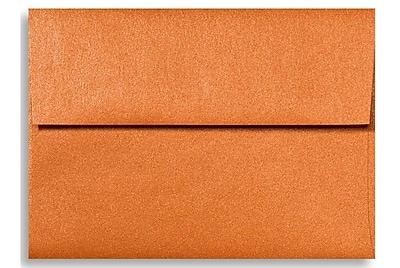 LUX A6 Invitation Envelopes (4 3/4 x 6 1/2) 1000/Box, Flame Metallic (5375-26-1000)