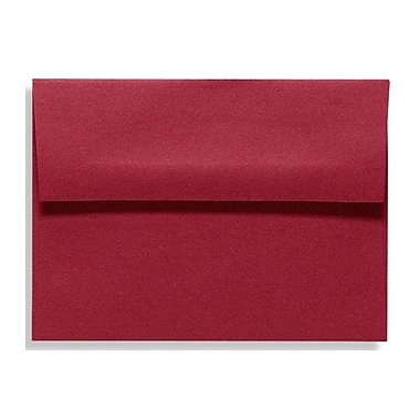 LUX A6 Invitation Envelopes (4 3/4 x 6 1/2) 500/Box, Garnet (EX4875-26-500)