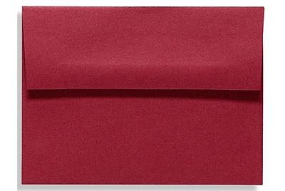 LUX A6 Invitation Envelopes (4 3/4 x 6 1/2) 500/Box, Garnet (EX4875-26-500)