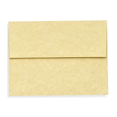 LUX A6 Invitation Envelopes (4 3/4 x 6 1/2), Gold Parchment, 1000/Box (6675-14-1000)