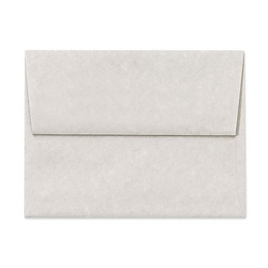 LUX A6 Invitation Envelopes (4 3/4 x 6 1/2) 50/Box, Gray Parchment (6675-13-50)