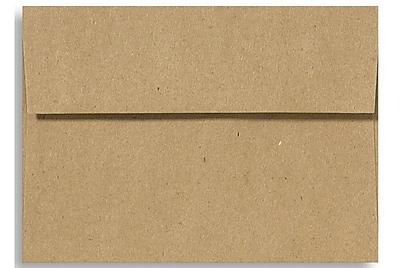 LUX A6 Invitation Envelopes (4 3/4 x 6 1/2) 500/Box, Grocery Bag (4875-GB-500)