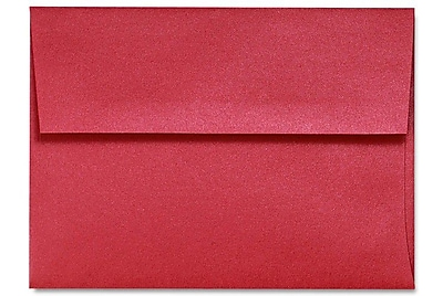 LUX A6 Invitation Envelopes (4 3/4 x 6 1/2) 500/Box, Jupiter Metallic (5375-20-500)