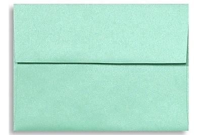 LUX A6 Invitation Envelopes (4 3/4 x 6 1/2) 500/Box, Lagoon Metallic (5375-27-500)