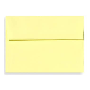 LUX A6 Invitation Envelopes (4 3/4 x 6 1/2) 50/Box, Lemonade (EX4875-15-50)