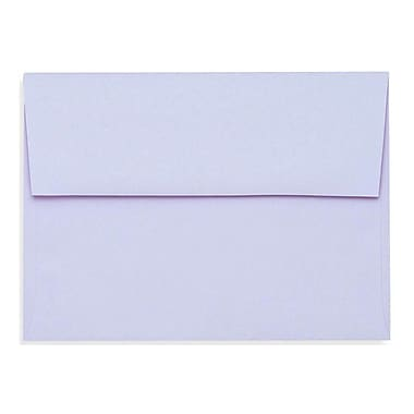 LUX A6 Invitation Envelopes (4 3/4 x 6 1/2) 250/Box, Lilac (SH4275-05-250)