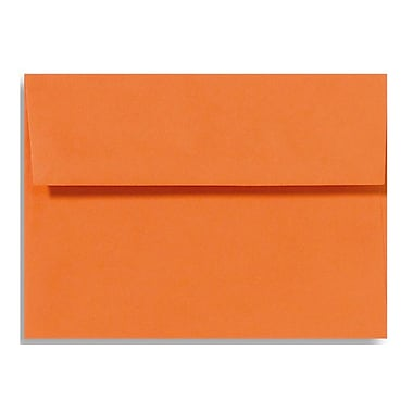 LUX A6 Invitation Envelopes (4 3/4 x 6 1/2) 50/Box, Mandarin (EX4875-11-50)