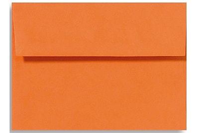 LUX A6 Invitation Envelopes (4 3/4 x 6 1/2) 50/Box, Mandarin (EX4875-11-50)