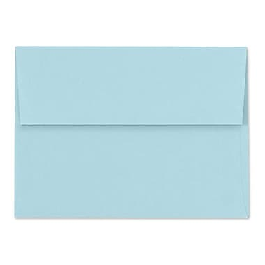 LUX A6 Invitation Envelopes (4 3/4 x 6 1/2), Pastel Blue, 500/Box (SH4275-01-500)