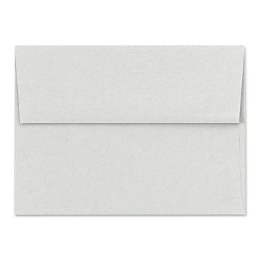 LUX A6 Invitation Envelopes (4 3/4 x 6 1/2) 50/Box, Pastel Gray (SH4275-03-50)