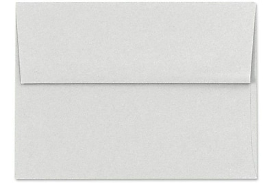 LUX A6 Invitation Envelopes (4 3/4 x 6 1/2) 1000/Box, Pastel Gray (SH4275-03-1000)