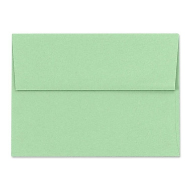 LUX A6 Invitation Envelopes (4 3/4 x 6 1/2) 50/Box, Pastel Green (SH4275-04-50)