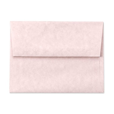 LUX A6 Invitation Envelopes (4 3/4 x 6 1/2) 500/Box, Pink Parchment (6675-16-500)