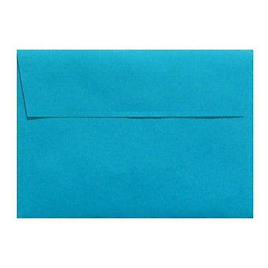 LUX A6 Invitation Envelopes (4 3/4 x 6 1/2) 500/Box, Pool (LUX-4875-102500)