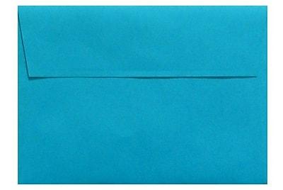 LUX A6 Invitation Envelopes (4 3/4 x 6 1/2) 500/Box, Pool (LUX-4875-102500)