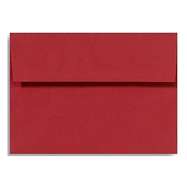 LUX A6 Invitation Envelopes (4 3/4 x 6 1/2) 50/Box, Ruby Red (EX4875-18-50)