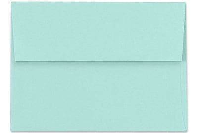 LUX A6 Invitation Envelopes (4 3/4 x 6 1/2) 500/Box, Seafoam (LUX-4875-113500)