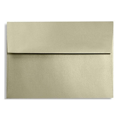LUX A6 Invitation Envelopes (4 3/4 x 6 1/2) 250/Box, Silversand (FA4875-05-250)