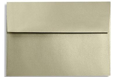 LUX A6 Invitation Envelopes (4 3/4 x 6 1/2) 50/Box, Silversand (FA4875-05-50)