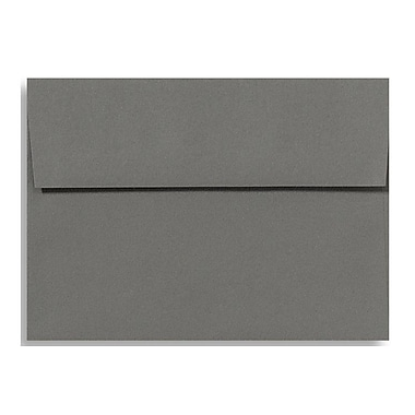 LUX A6 Invitation Envelopes (4 3/4 x 6 1/2), Smoke, 250/Box (EX4875-22-250)