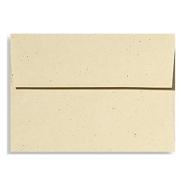LUX A6 Invitation Envelopes (4 3/4 x 6 1/2) 250/Box, Stone (ET4875-16-250)