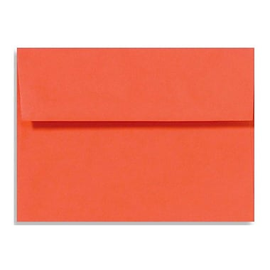 LUX A6 Invitation Envelopes (4 3/4 x 6 1/2) 250/Box, Tangerine (LUX-4875-112250)