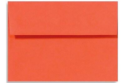 LUX A6 Invitation Envelopes (4 3/4 x 6 1/2) 250/Box, Tangerine (LUX-4875-112250)
