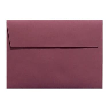 LUX A6 Invitation Envelopes (4 3/4 x 6 1/2) 1000/Box, Vintage Plum (LUX-4875-104-25)