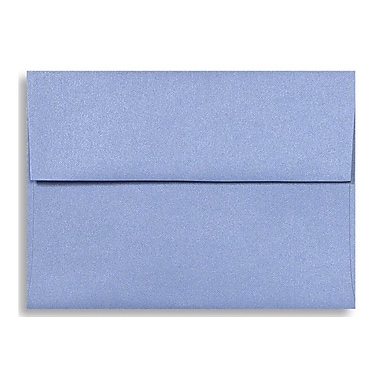 LUX A6 Invitation Envelopes (4 3/4 x 6 1/2) 50/Box, Vista Metallic (5375-29-50)