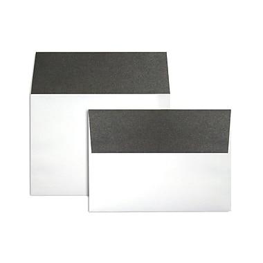 LUX A7 Colorflaps Envelopes (5 1/4 x 7 1/4) 250/Box, Smoke Flap (CF4880-22-250)