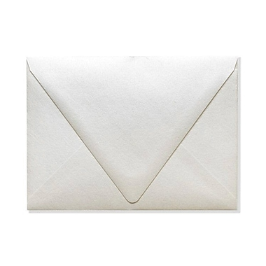 LUX A7 Contour Flap Envelopes (5 1/4 x 7 1/4) 1000/Box, Quartz Metallic (1880-08-1000)