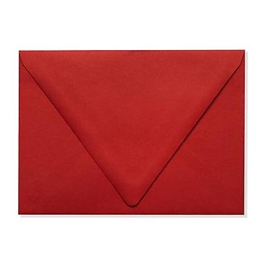 LUX A7 Contour Flap Envelopes (5 1/4 x 7 1/4) 500/Box, Ruby Red (EX-1880-18-500)