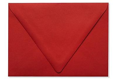 LUX A7 Contour Flap Envelopes (5 1/4 x 7 1/4) 50/Box, Ruby Red (EX-1880-18-50)