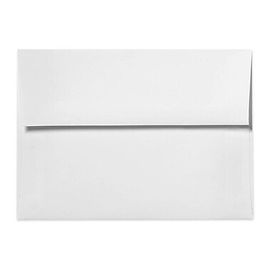 LUX A7 Invitation Envelopes (5 1/4 x 7 1/4) 250/Box, 24lb. Bright White (72940-250)