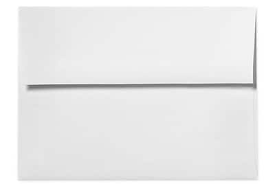 LUX A7 Invitation Envelopes (5 1/4 x 7 1/4) 250/Box, 70lb. Bright White (20677-250)