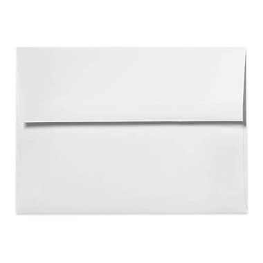 LUX A7 Invitation Envelopes (5 1/4 x 7 1/4), 80lb., White w/Peel & Press, 50/Box (FE4580-05-50)