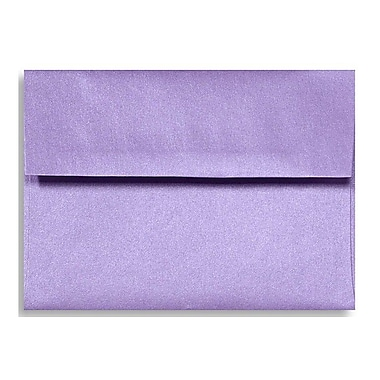 LUX A7 Invitation Envelopes (5 1/4 x 7 1/4) 1000/Box, Amethyst Metallic (5380-17-1000)